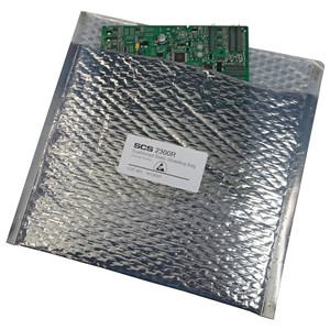 STATIC SHIELD BAG 2300R SERIES CUSHIONED, 6x8, 100 EA