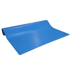 "6841-MAT ROLL, 2-LAYER RUBBER, 6800 SERIES, BLUE, 0.072""x24""x50'"
