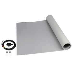 "8253-MAT ROLL, 3-LAYER VINYL, 8200 SERIES, GRAY, 0.140""x48""x24'"