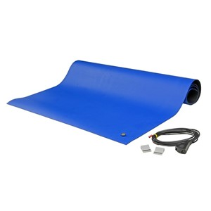 "88A1-MAT KIT, 2-LAYER RUBBER, 8800 SERIES, BLUE, 0.065""x24""x36"""