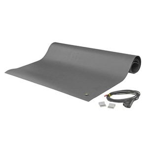 "MAT KIT, 2-LAYER RUBBER, 8900 SERIES, GRAY,  0.065""x24""x48"""