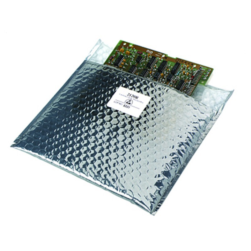 2121014-STATIC SHIELD BAG 2120R SERIES CUSHIONED, 10x14, 100 EA