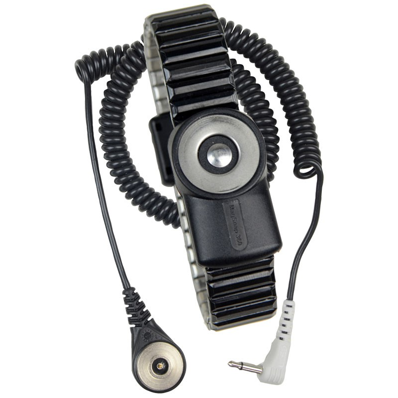 2229-MAGSNAP 360, WRIST STRAP, MAGNETIC,DUAL,METAL,6' CORD,MD