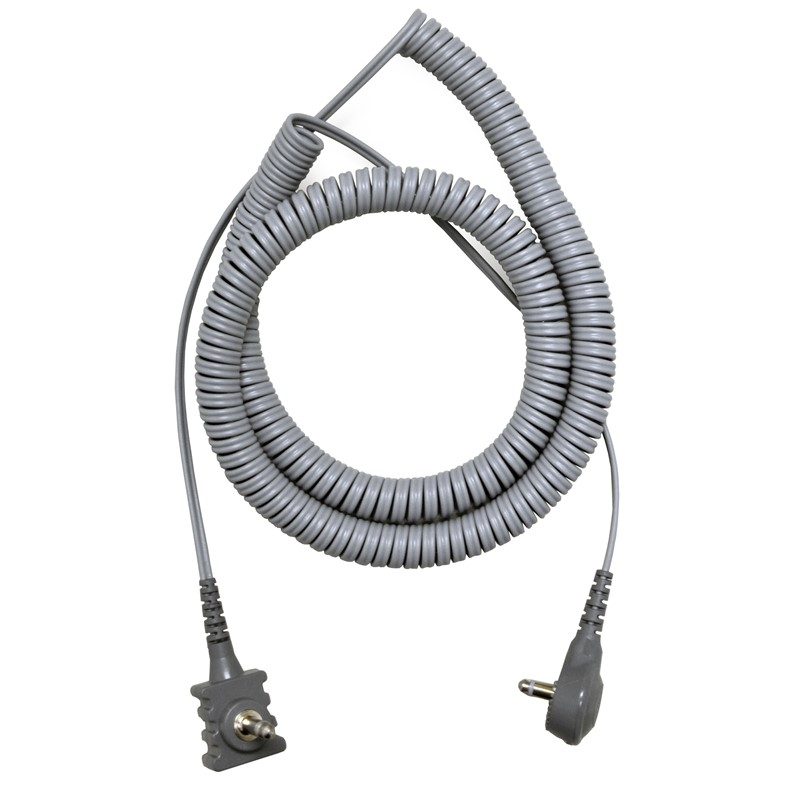 2370R-CORD, DUAL CONDUCTOR, 10', WITH RIGHT ANGLE MONO PLUG