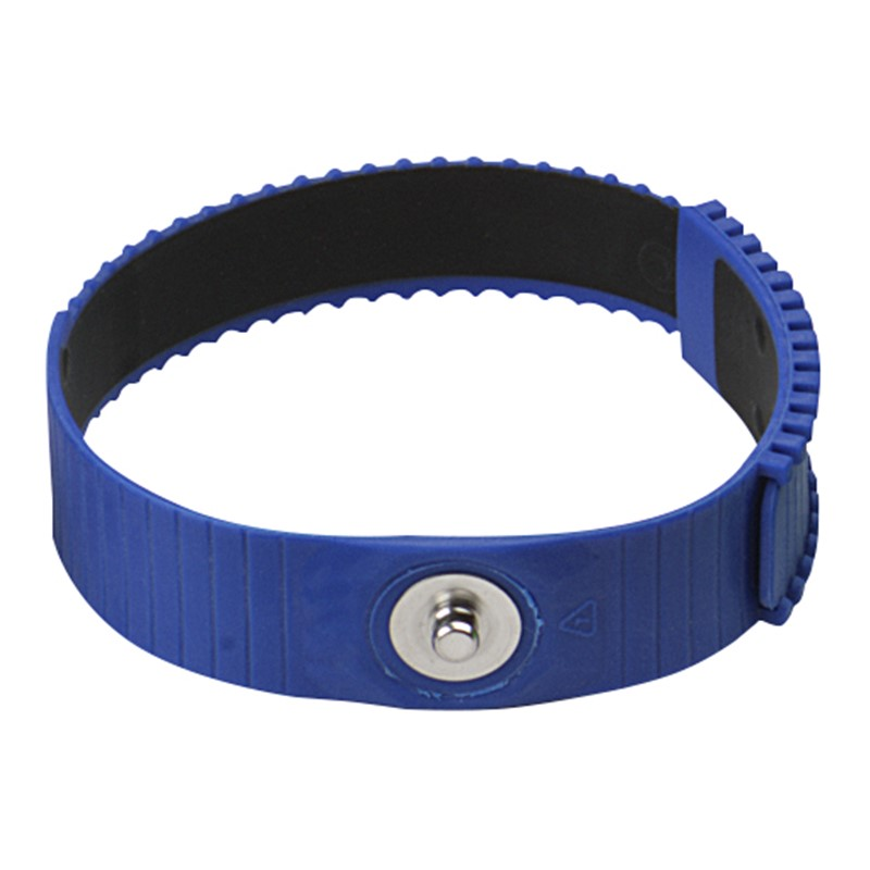 4620-WRIST BAND, BLUE, 4MM STUD