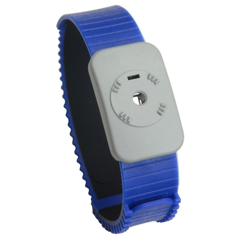 4720-WRIST BAND, DUAL CONDUCTOR, BLUE
