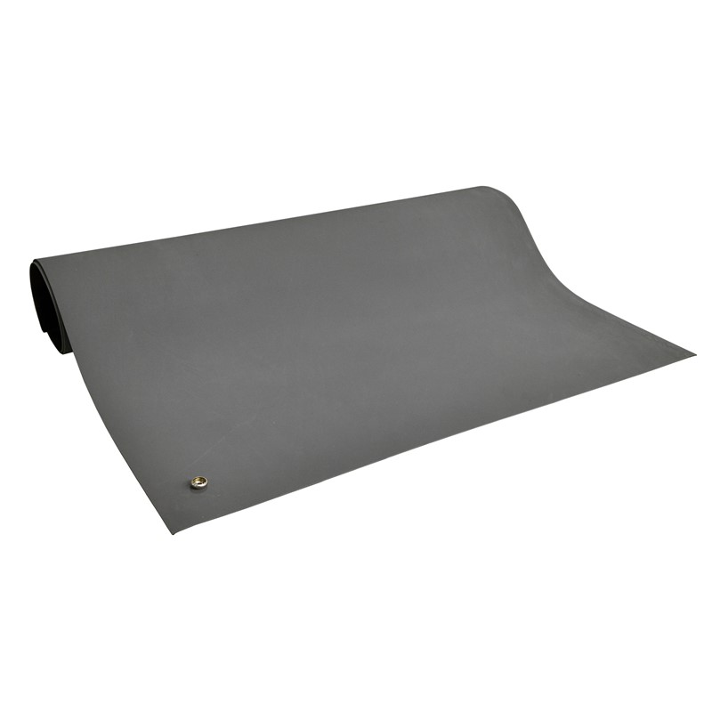 MAT ROLL, 2-LAYER RUBBER, 6800 SERIES, GRAY, 0.072