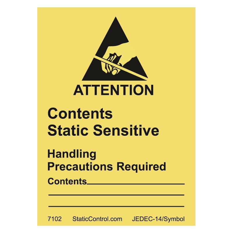 7102-CAUTION LABEL, DESTRUCTIBLE, 1.8IN x2.5IN, RS-471, 500/ROLL