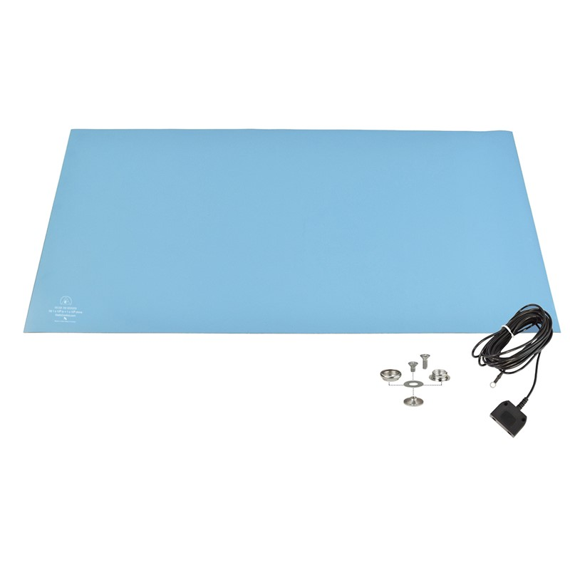 770074-MAT KIT, RUBBER, R3, LIGHT BLUE, 24'' x 48''