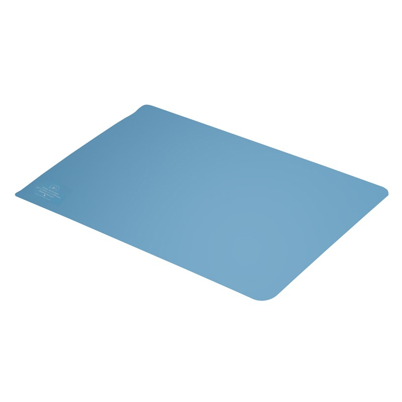 770096-TRAY LINER, RUBBER, R3, LIGHT BLUE, 16'' x 24''