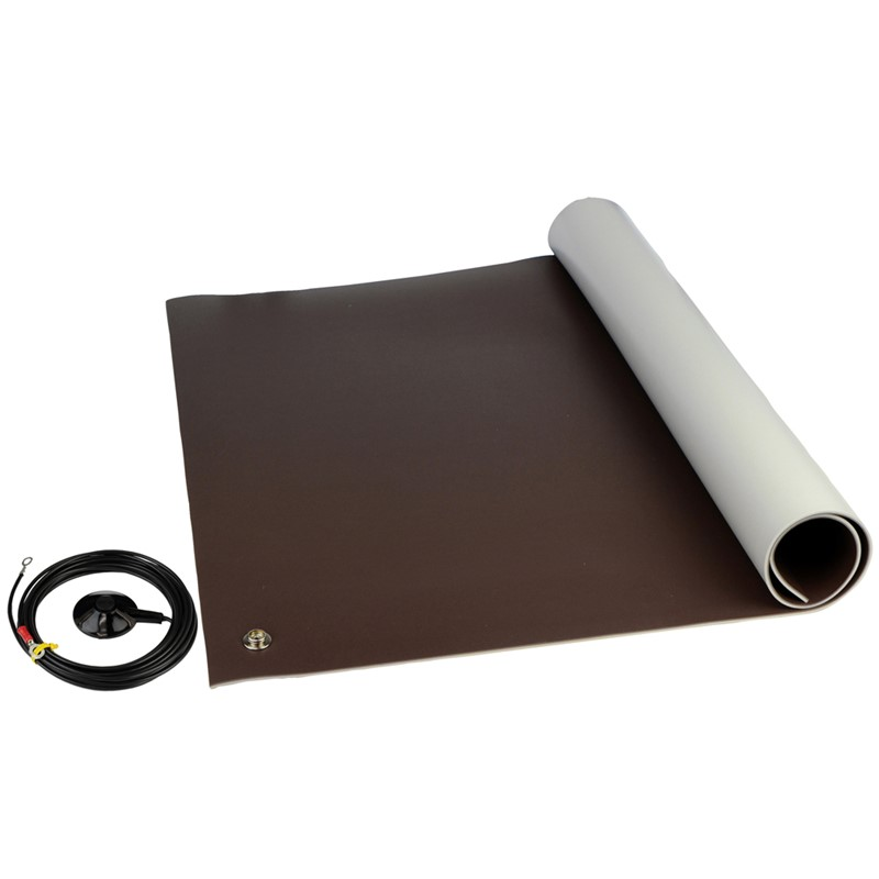 "8201-FLOOR KIT, 3-LAYER VINYL, 8200 SERIES, BROWN, 0.140""x48""x72"""