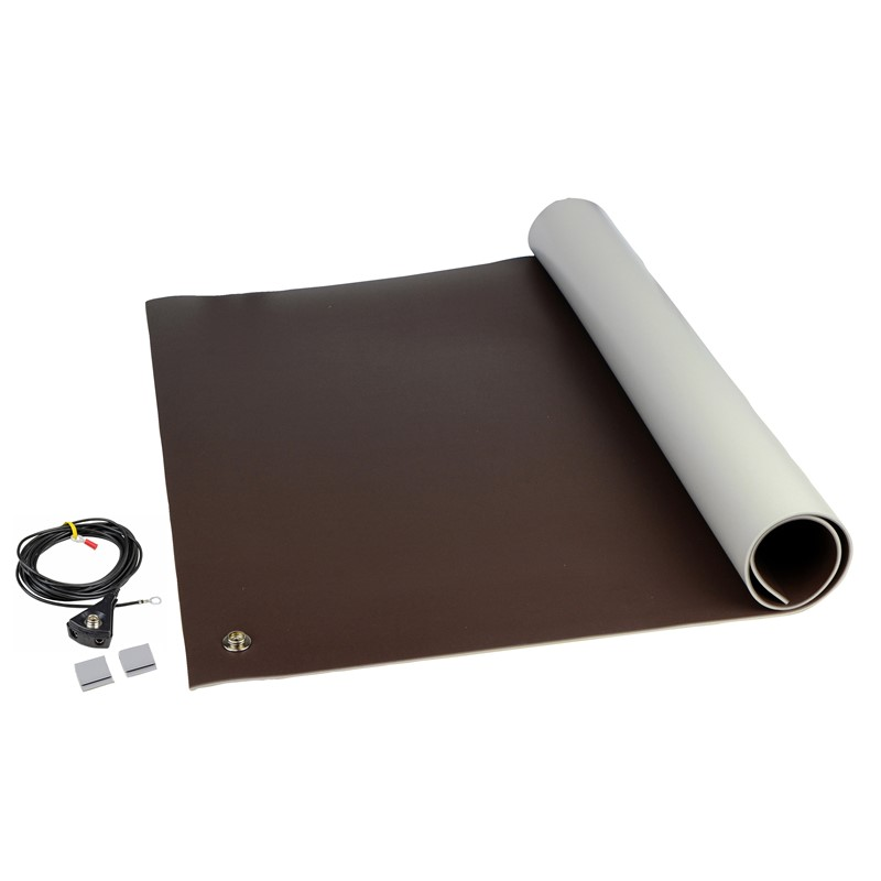 "8211-MAT KIT, 3-LAYER VINYL, 8200 SERIES BROWN, 0.140""x24""x48"""