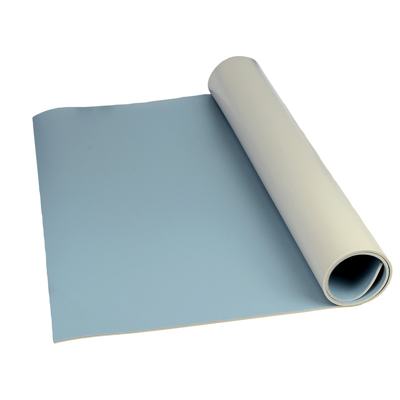 "8234-MAT ROLL, 3-LAYER VINYL, 8200 SERIES, BLUE, 0.140""x24""x50'"