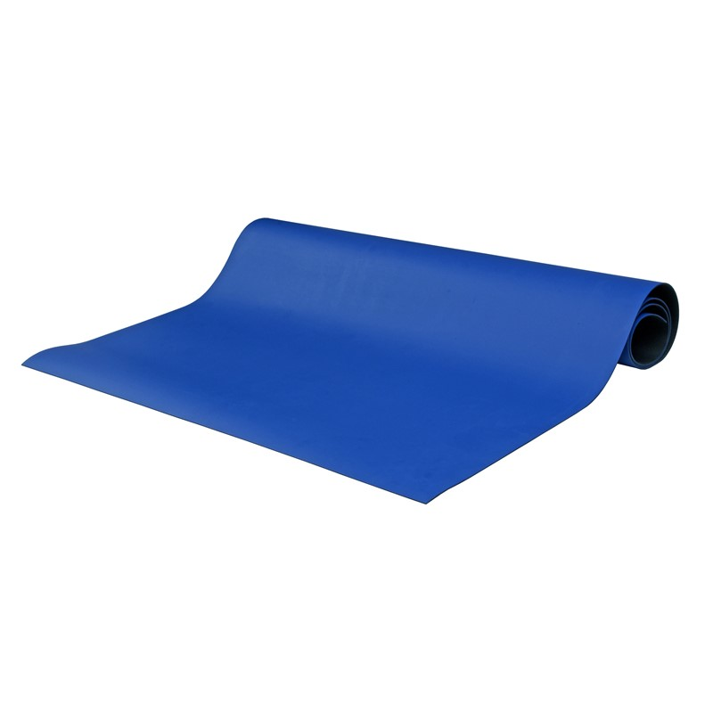 "8904-MAT ROLL, 2-LAYER RUBBER, 8900 SERIES, BLUE, 0.065""x36""x50'"