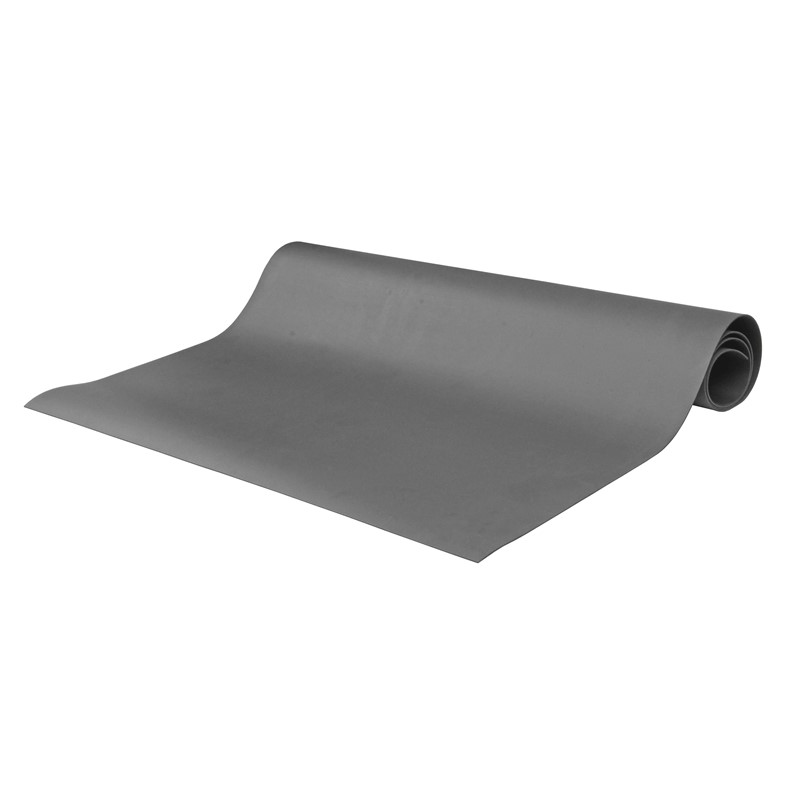 "8906-MAT ROLL, 2-LAYER RUBBER, 8900 SERIES, GRAY, 0.065""x48""x50'"