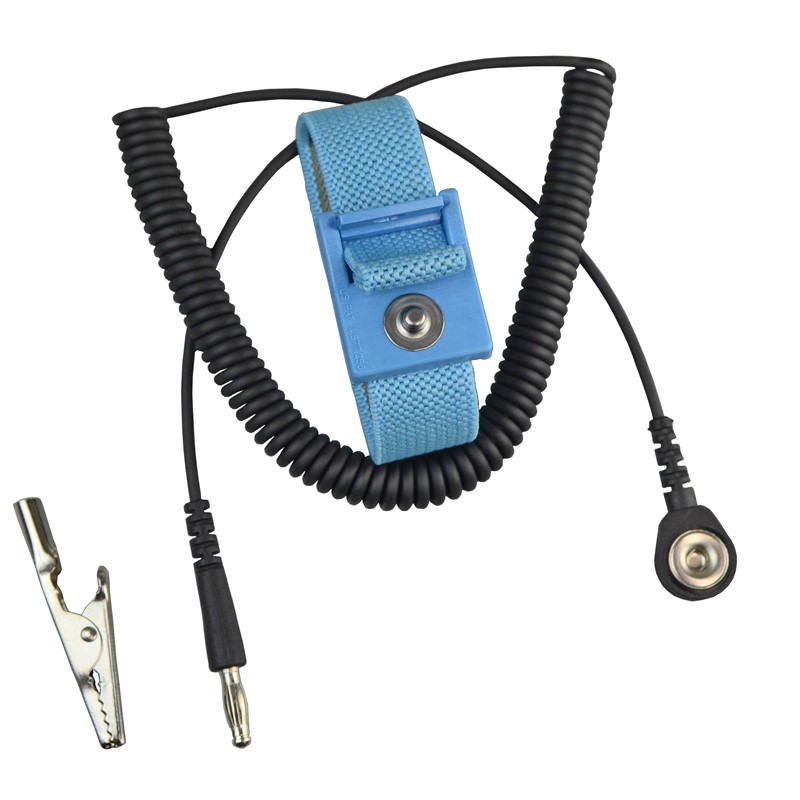 BLUEWS61M-WRIST STRAP, FABRIC, BLUE, 6' CORD