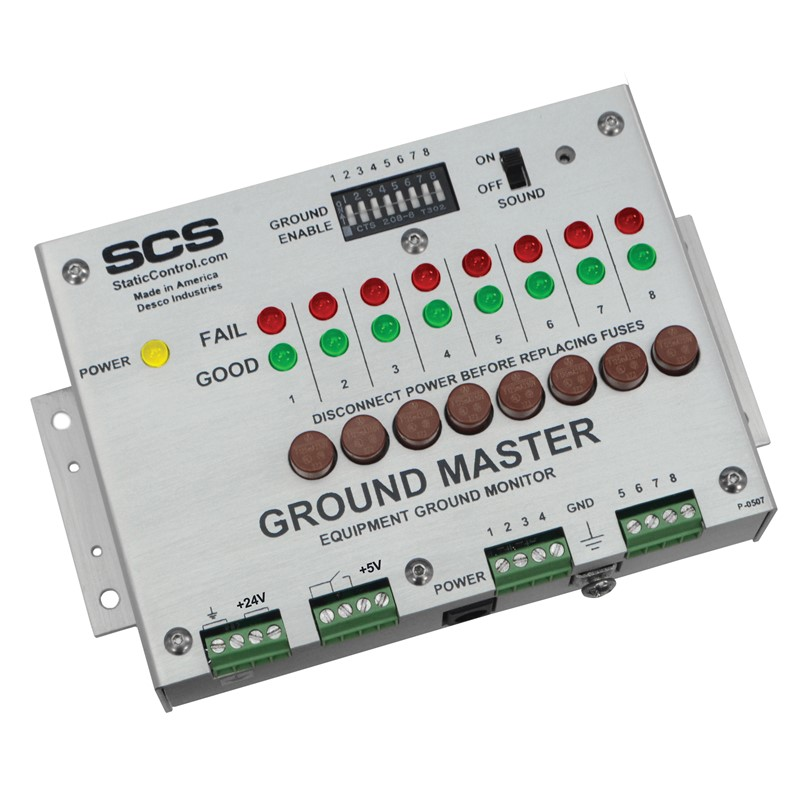 CTC065-RT-T-GROUND MASTER, RELAY OUT, NO POWER ADAPTER