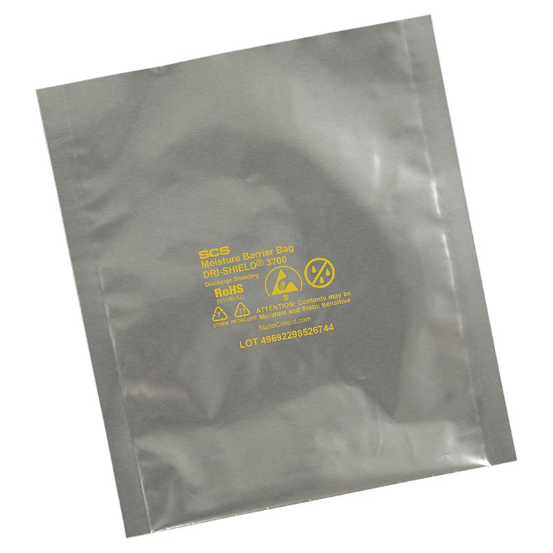 D3746-MOISTURE BARRIER BAG, DRI-SHIELD 3700 , 4x6, 100EA