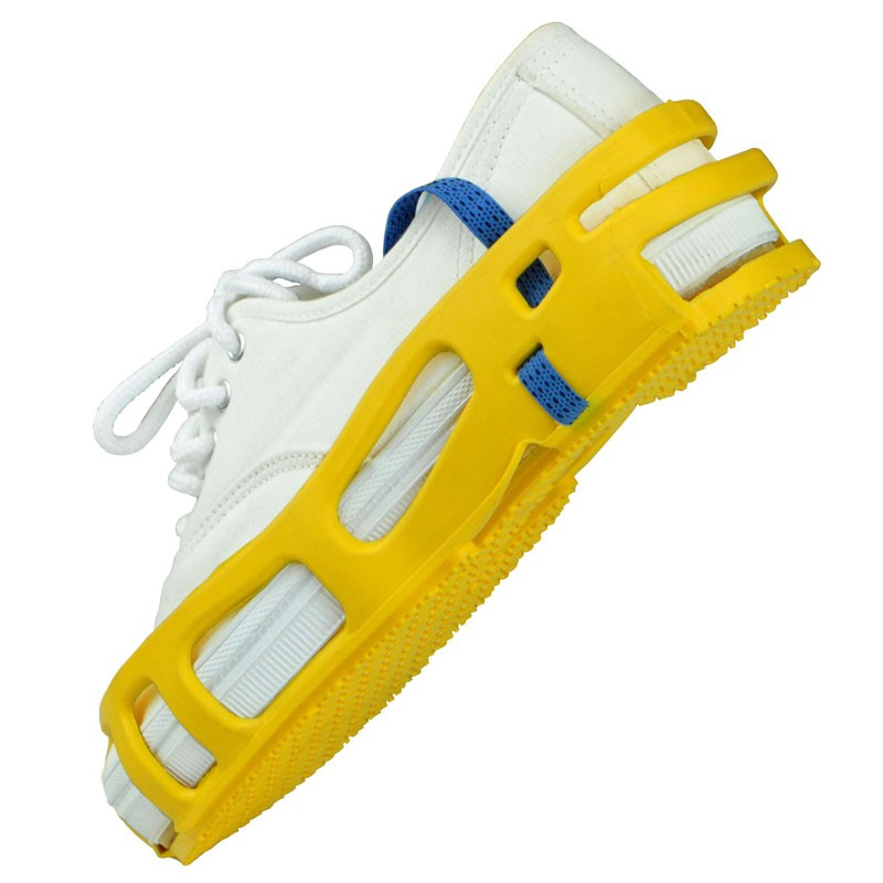 SAR-S-STAT-A-REST FOOT GROUNDER, YELLOW, PAIR, SMALL