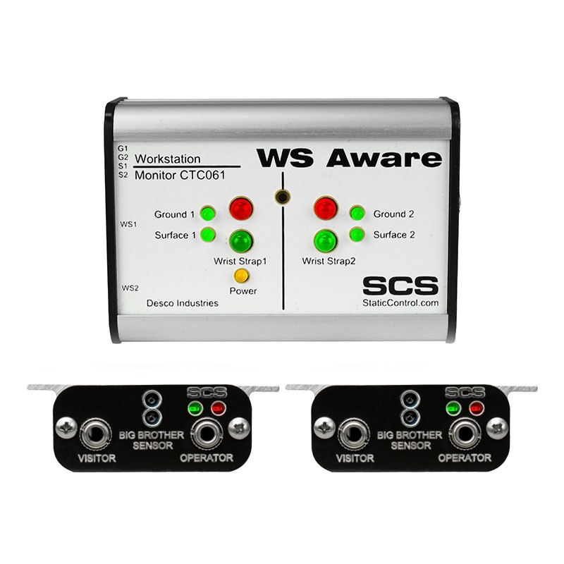CTC061-5-243-WW-WS AWARE MONITOR, MODBUS OUT, BIG BROTHER REMOTES