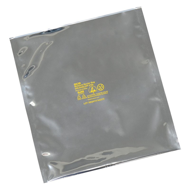 D27818-MOISTURE BARRIER BAG, DRI-SHIELD 2700, 8x18, 100 EA