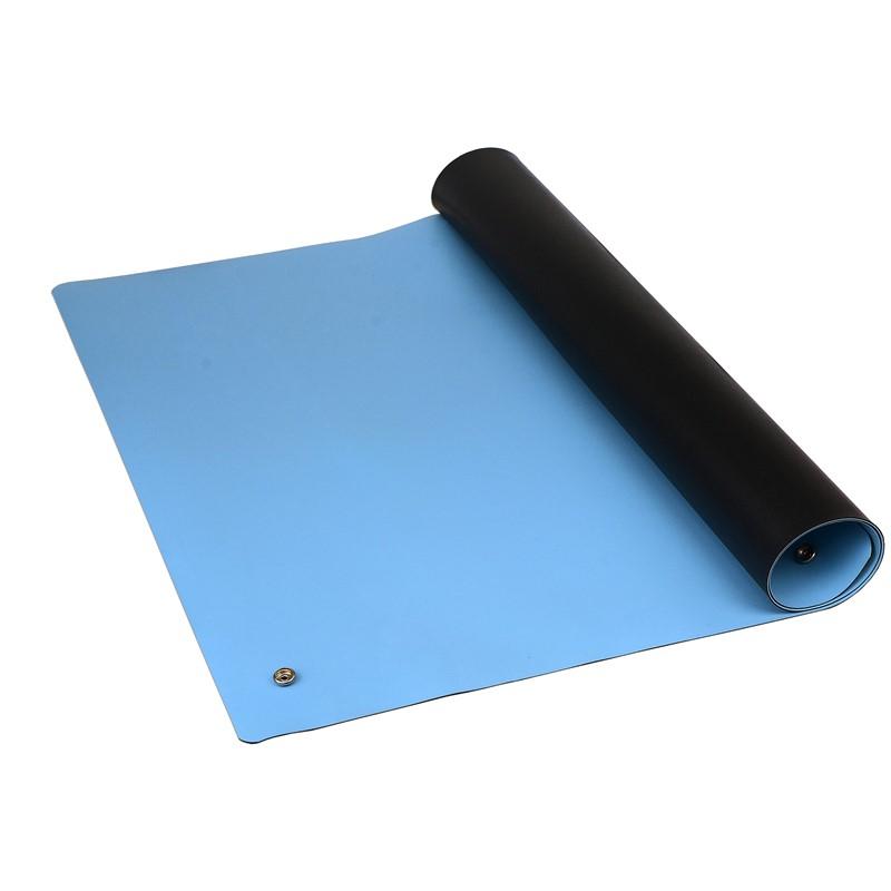 """RM2448L2RBL-MAT, ULTRA-R2, RUBBER, BLUE, 0.064"""" x 24"""" x 48"""""""