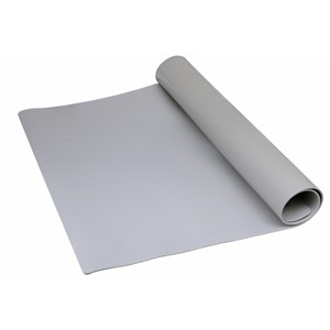 "MAT ROLL, PREMIUM 3-LAYER VINYL, GRAY, 0.135""x24""x50'"