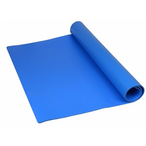 "TM241200L3BL-MAT ROLL, PREMIUM 3-LAYER VINYL, BLUE, 0.135""x24""x100'"