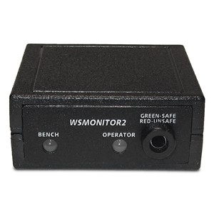 WSMONITOR2-230VAC-MONITOR, WRIST STRAP, WITH 230 VAC POWER ADAPTER
